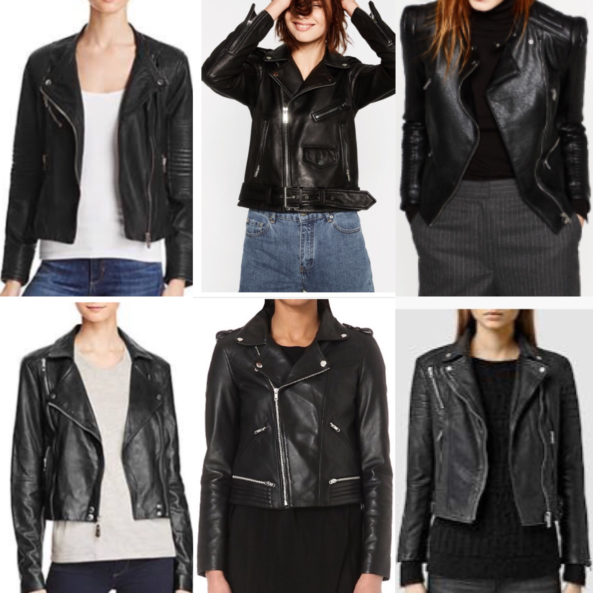 The Perfect Fall Jacket...Black Leather