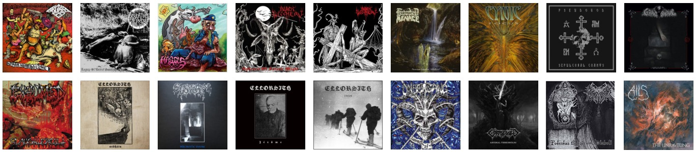 Black Metal – Eye And Ear Control Records