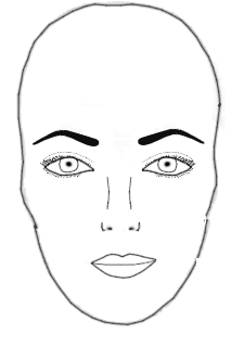 Perfect Eyebrows For The Oval Face Shape