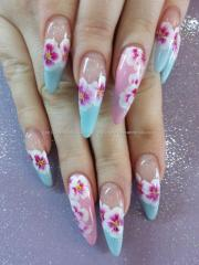 eye candy nails & training - pink