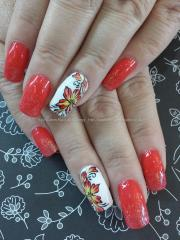eye candy nails & training - coral