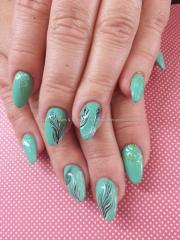 eye candy nails & training - mint