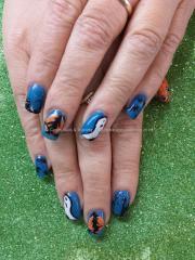 eye candy nails & training - blue