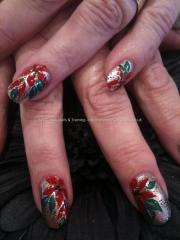 eye candy nails & training - christmas