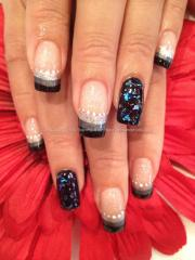 eye candy nails & training - silver