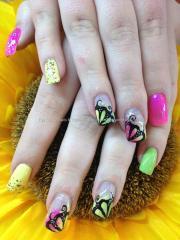 eye candy nails & training - neon
