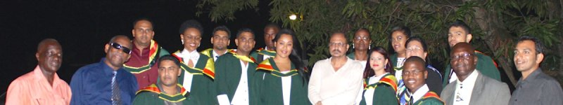 22 Optometrists graduated from the University Of Guyana – Sat. 8th Nov. 2014