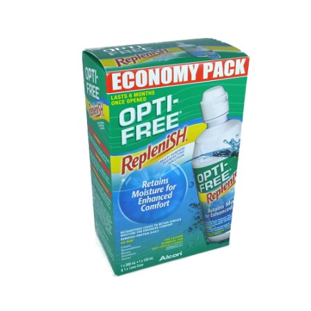 Opti-Free RepleniSH Economy Pack