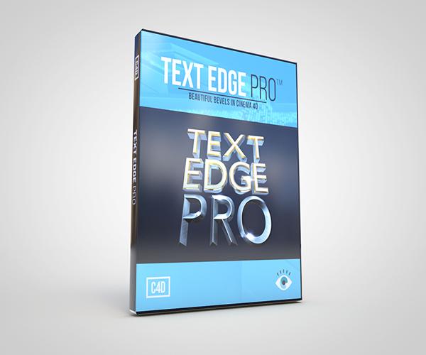 Text Edge FX Pro 2.0 for Cinema 4D