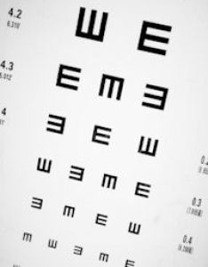 Tumbling  eye chart to test visual acuity also testing what means and how charts work rh eyedoctorguide