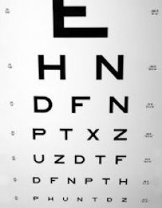 Eye chart to test visual acuity also testing what means and how charts work rh eyedoctorguide