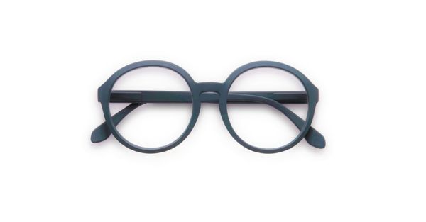 Doubleice Moon Blu Reading glasses
