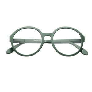 moon green reading glasses