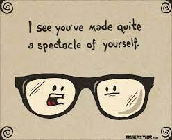 reading glasses the funny side.