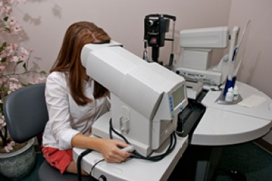 Image result for peripheral eye test