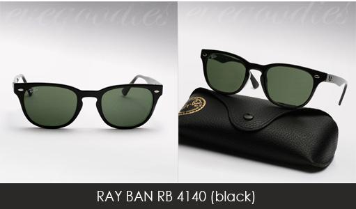 ray ban 4140 black