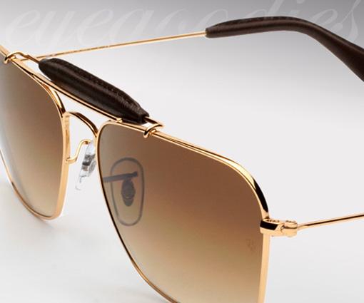 ray-ban-3415-q-leather sunglasses