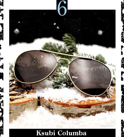 6. Ksubi Columba Sunglasses