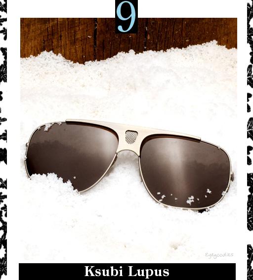 9. Ksubi Lupus Sunglasses