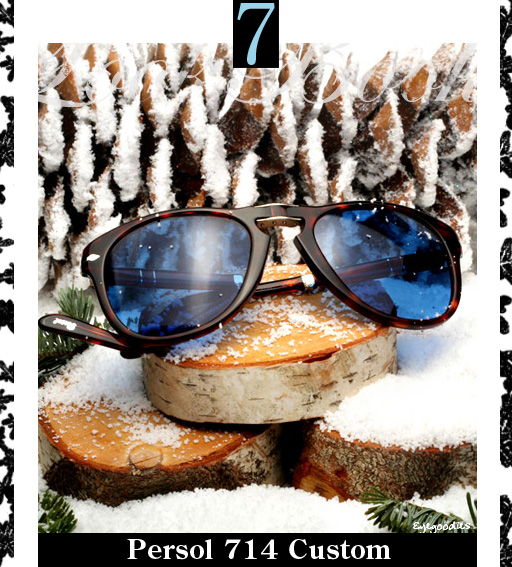 7. Persol 714 Custom Sunglasses