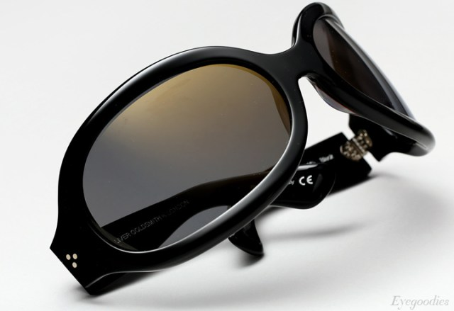 Oliver Goldsmith Yuhu Sunglasses - Black