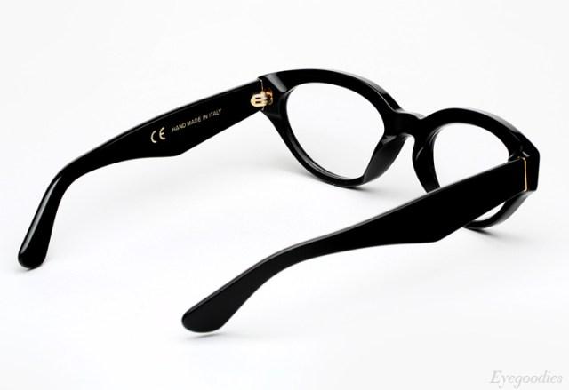 Super Drew Black Eyeglasses
