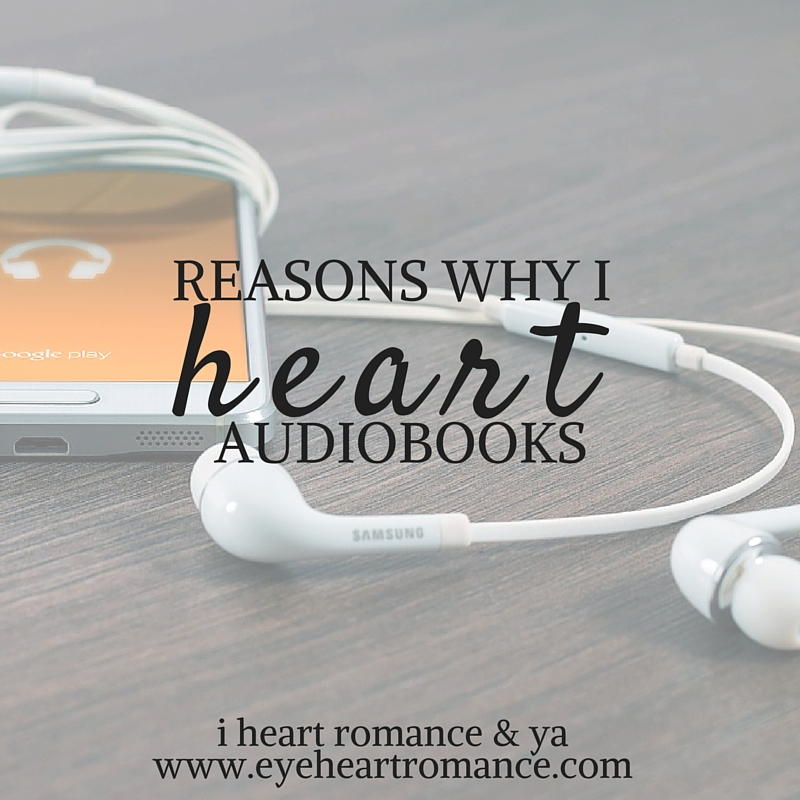 Friday Faves: Reasons Why I Heart Audiobooks