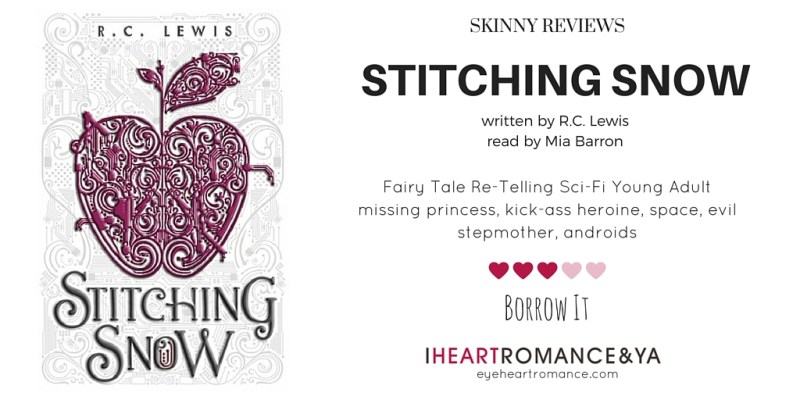 Stitching Snow by R.C. Lewis Skinny Review