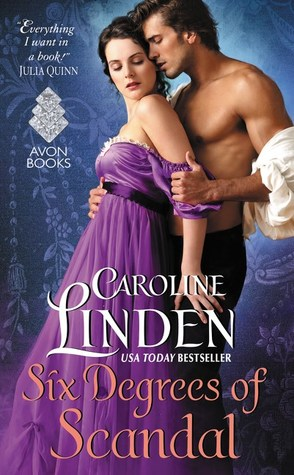 Six Degrees of Scandal by Caroline Linden | Excerpt + Giveaway