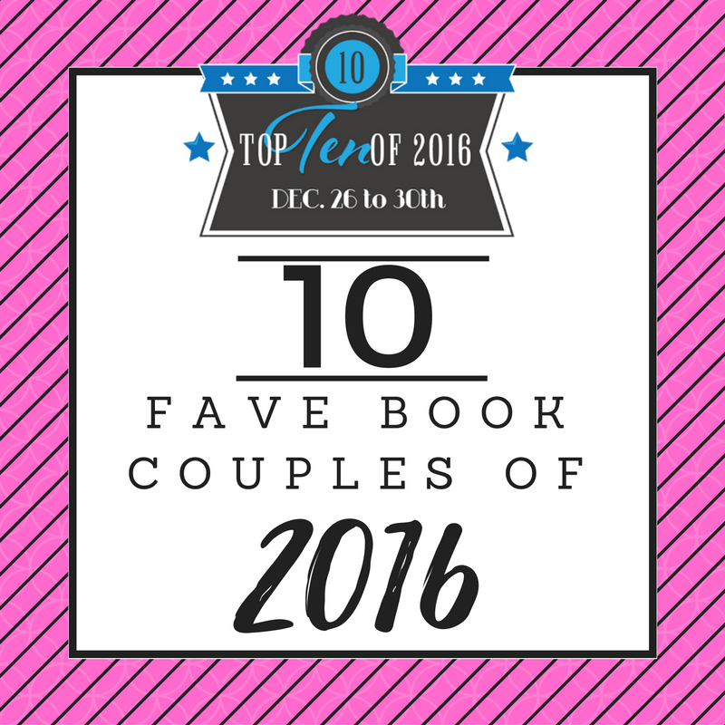 Ten Favorite Book Couples of 2016
