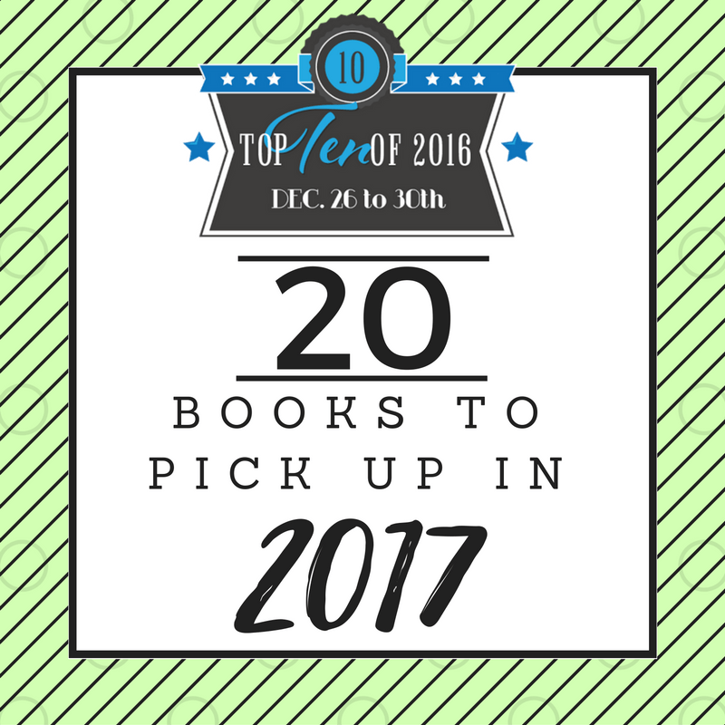 Books to Pick Up in 2017