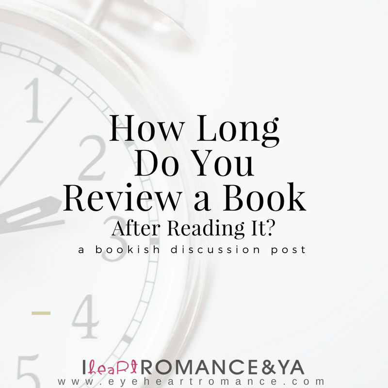 How Long Do You Review a Book After Reading It?