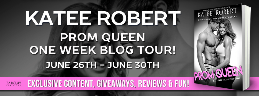 A Steamy Second-Chance Romance   Prom Queen by Katee Robert Review + Giveaway