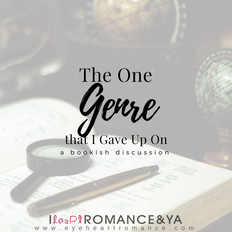 The One Genre that I Gave Up On