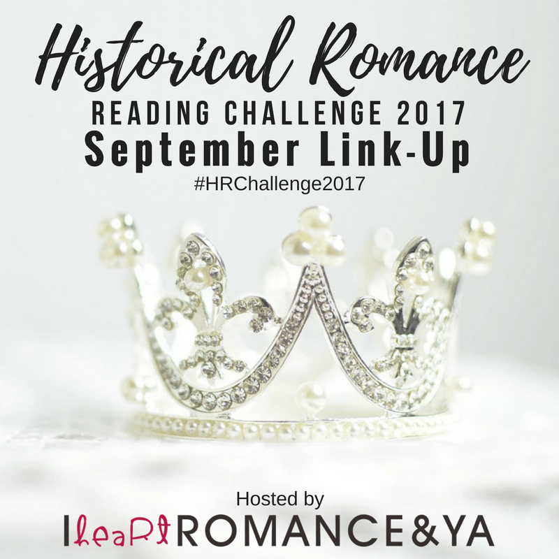 Historical Romance Reading Challenge September Progress + Link Up