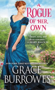 A Rogue of Her Own by Grace Burrows Cover