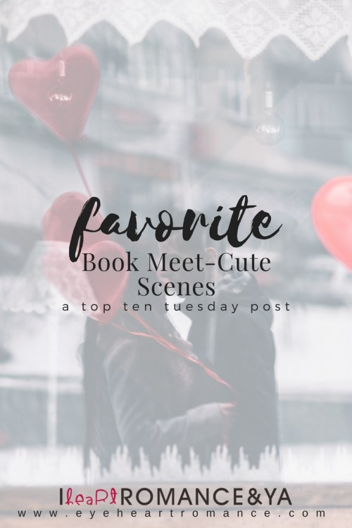 Favorite Book Meet-Cute Scenes Graphic