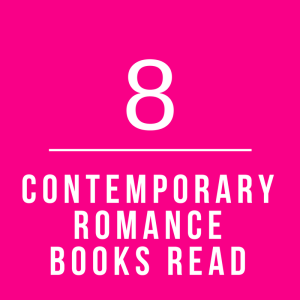 January Contemporary Romance Books Read