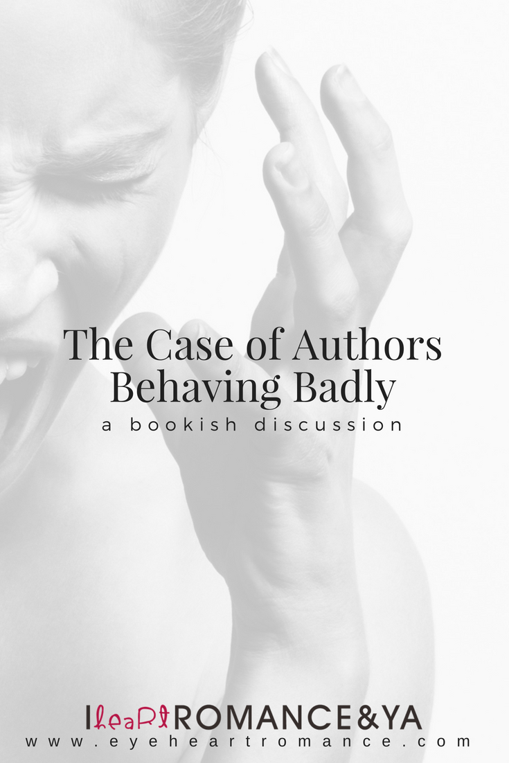 The Case of Authors Behaving Badly