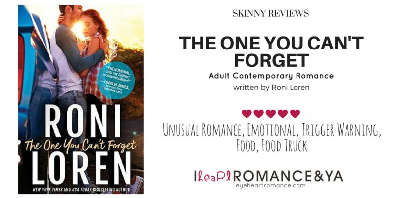 The One You Can't Forget by Roni Loren Skinny Review