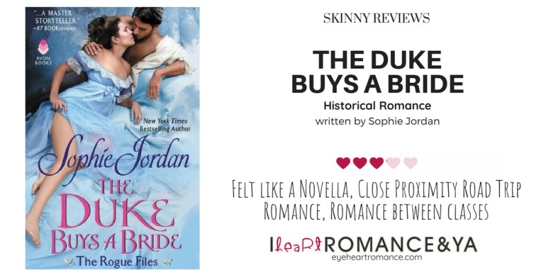 The Duke Buys the Bride Skinny Review