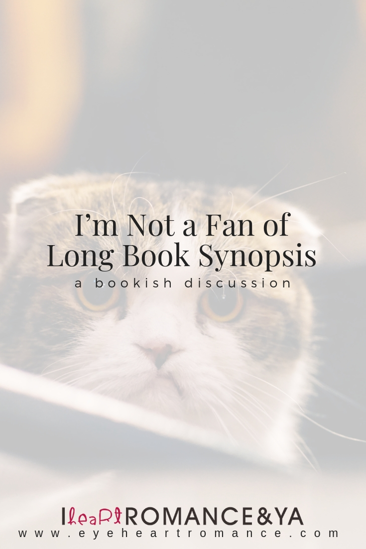 I'm Not a Fan of Long Book Synopsis