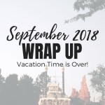 Vacation Time is Over!