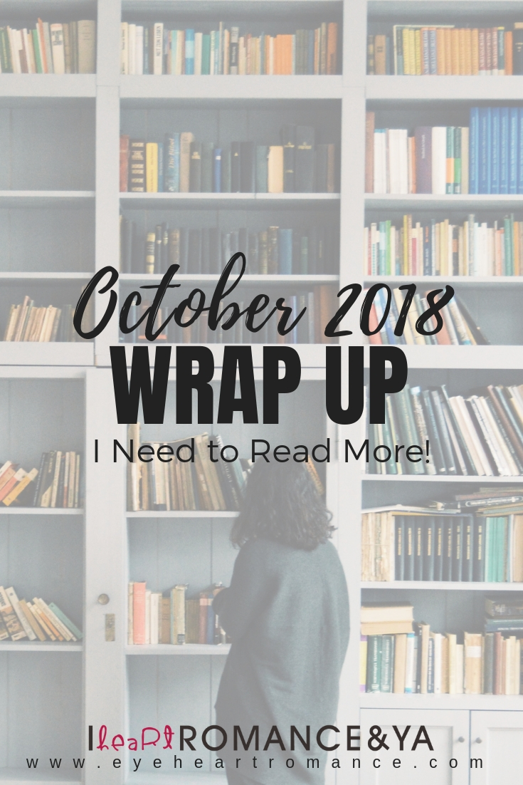 I Need to Read More! November 2018 Monthly Wraps