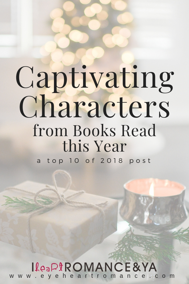 Captivating Characters from Books Read this Year