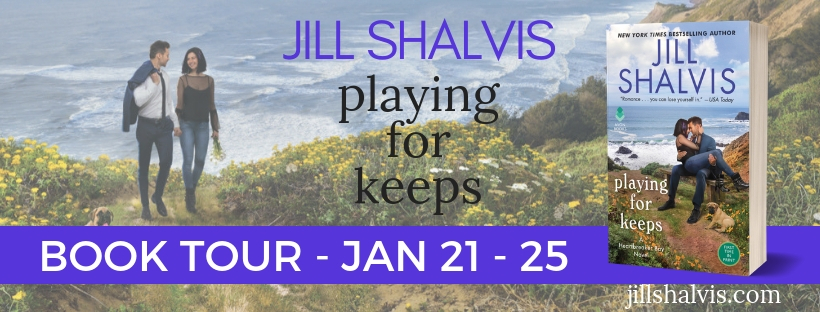 I Love Lollipop! Playing for Keeps by Jill Shalvis [ARC Review + Giveaway]