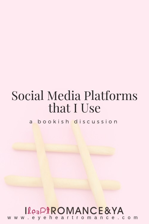 Social Media Platforms that I Use