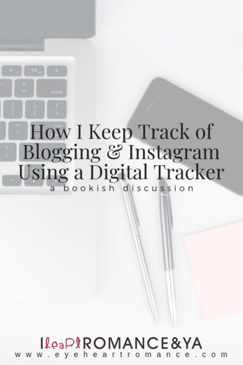How I Keep Track of Blogging & Instagram Using a Digital Tracker