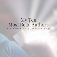 My Ten Most Read Authors