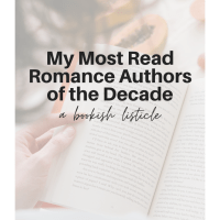 My Most Read Romance Authors of the Decade